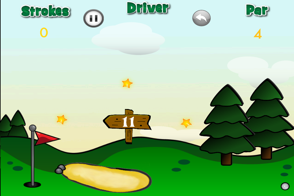 Screenshot Golf Stars! for iPhone